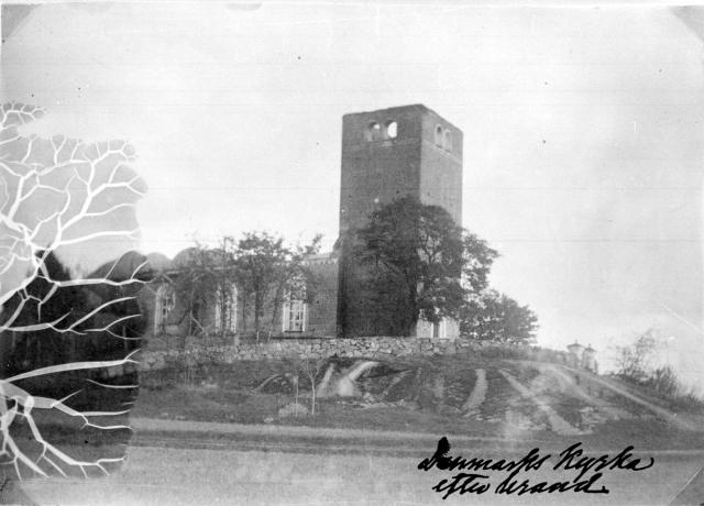 Danmarks kyrka 1889