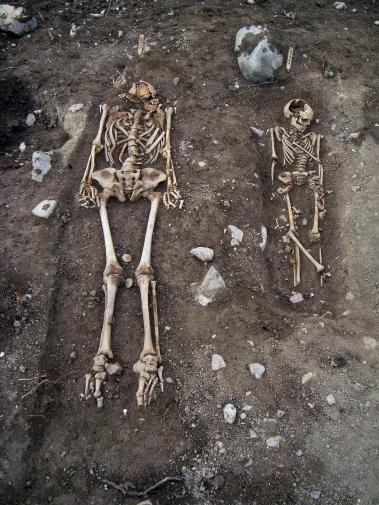 Skelettgravar Gnista